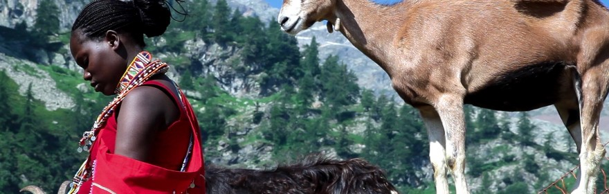 Ilmurran – Masai in the Alps