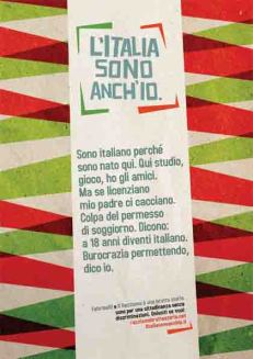 logo italia sono anche io