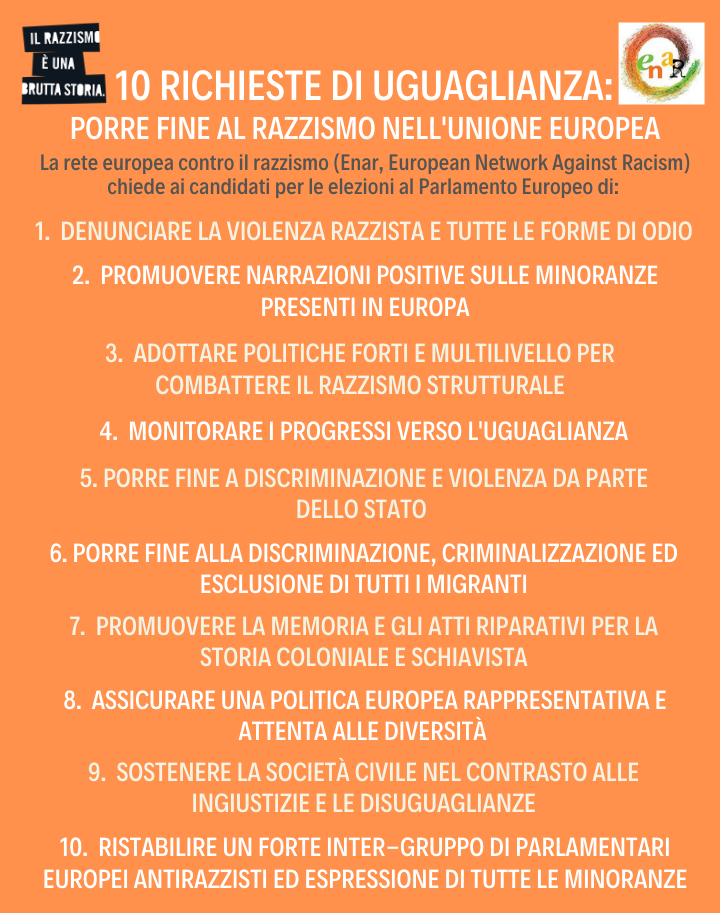 10 richieste di uguaglianza