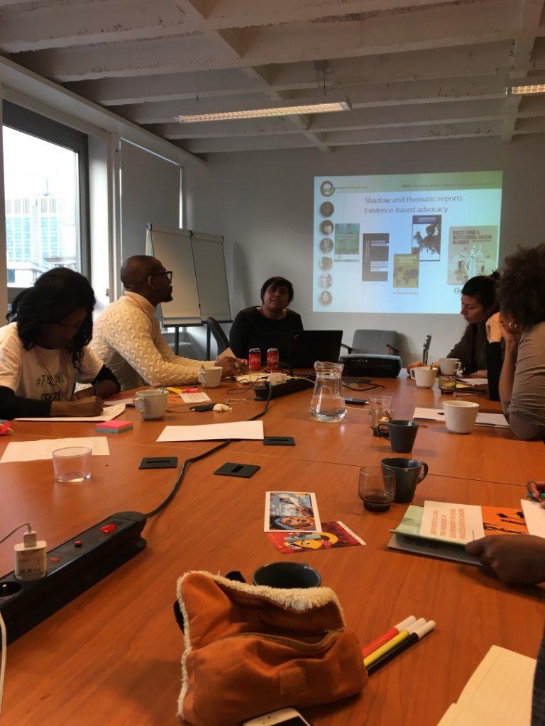 Workshop con il team di ENAR
